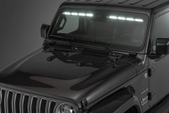 "Quadratec LED Interior Mount 50"" Stealth Light Bar 2-Piece for 18-20+ Jeep Wrangler JL & Gladiator JT with Adaptive Cruise Control 97109.1401"