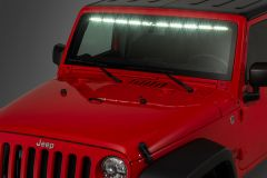 "Quadratec LED Interior Mount 50"" Stealth Light Bar For 2007-18 Jeep Wrangler JK 2 Door & Unlimited 4 Door Models 97109.1402"