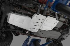Quadratec Aluminum Modular Engine & Transmission, and Transfer Case Skid Plates for 07-18 Jeep Wrangler JK 12500.0290