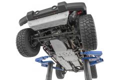 Quadratec Aluminum Modular Skid Plate System for 10-18 Jeep Wrangler Unlimited JK 4-Door 12500JKU-