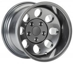 Quadratec Baja Xtreme II Wheel 15x10 with 4.0in Backspace for 87-06 Jeep Wrangler YJ & TJ 92615BX10-