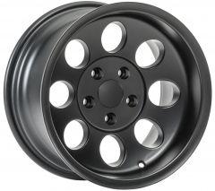 Quadratec Baja Xtreme II Wheel 15x8 with 4.0in Backspace for 87-06 Jeep Wrangler YJ & TJ 92615BX8-