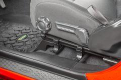 Quadratec Flashlight Holder for 18+ Jeep Wrangler JL Unlimited & 20+ Gladiator JT 12120-