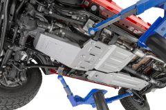Quadratec Aluminum Modular Fuel Tank Skid Plate for 18+ Jeep Wrangler JL Unlimited with 3.6L engine 12500.0206