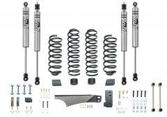 """Quadratec 3.5"""" Coil Spring Suspension Kit with FOX IFP Mono-Tube Shocks for 07-18 Jeep Wrangler JK"""