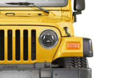 Quadratec Premium LED Projector Beam Headlights for 55-86 Jeep CJ & 97-06 Wrangler TJ 97109TJ-