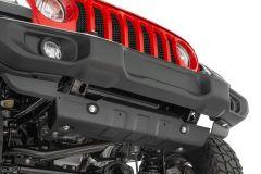 Quadratec Aluminum Modular Front Sway Bar Skid Plate for 18+ Jeep Wrangler JL, JLU and Gladiator JT 12500-