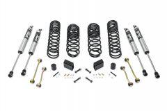 Quadratec Maximum Duty 2.5in Coil Spring Suspension Lift Kit for 18+ Jeep Wrangler Unlimited JL 4-Door Sport/Sahara