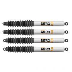 "Quadratec Maximum Duty Nitro 8.0 Shock Kit for 18+ Jeep Wrangler JL with 2.5"" Lift 16116.0431"