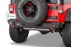 Quadratec Mid Width Rear Bumper Without Lights for 07-18 Jeep Wrangler JK, JKU 12057.0250