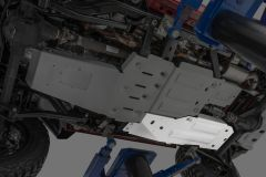 Quadratec Aluminum Modular Fuel Tank Skid Plate for 07-18 Jeep Wrangler JK 2-Door 12500.0215