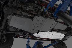 Quadratec Aluminum Modular Fuel Tank Skid Plate for 07-18 Jeep Wrangler Unlimited JK 12500.0216