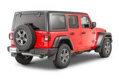 Quadratec Molded Splash Guards  for 18+ Jeep Wrangler JL, JLU 12541-