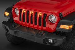 Quadratec Pre-Runner LED Light Kit for 18+ Jeep Wrangler JL, JLU
