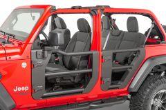 Quadratec Tube Doors for 18-20+ Jeep Wrangler JL, JLU & Gladiator JT 11147-