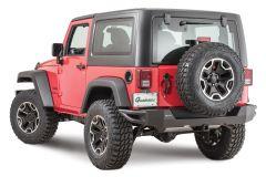 Quadratec QRC Rear Bumper for 07-18 Jeep Wrangler JK, JKU 12057.0220