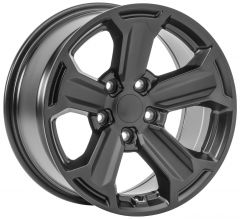 Quadratec Recon Wheel in 17x8.5 with 5.2in for 07-20+ Jeep Wrangler JK, JL and Gladiator JT 92615REC-
