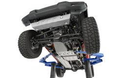 Quadratec Aluminum Modular Skid Plate System for 18+ Jeep Wrangler JL Unlimited with 3.6L engine 12500SET