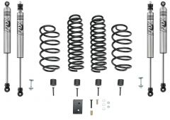 """Quadratec 2.5"""" Coil Spring Suspension Lift Kit with FOX IFP Mono-Tube Shocks for 97-06 Jeep Wrangler TJ & Unlimited 16400.0302"""