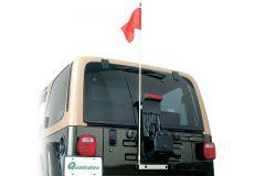 Quadratec Trail Flag Kit for 87-06 Jeep Wrangler YJ, TJ & Unlimited 96081.000