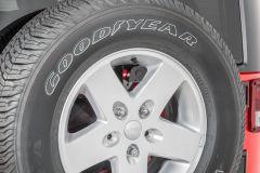 Quadratec Rear Camera Spare Tire Bracket for 87-18 Jeep Wranglers 14066.9390