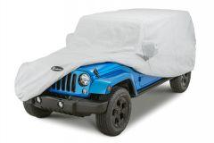 Quadratec Softbond 5-Layer Car Cover for 07-18 Jeep Wrangler Unlimited JK 4 Door 11081.2012