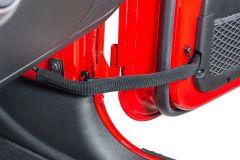 Quadratec Adjustable Replacement Door Check Straps for 07-18 Jeep Wrangler JK, JKU 14018.1213