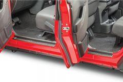 Quadratec Front & Rear Entry Guards for 07-18 Jeep Wrangler Unlimited JK 4 Door 13113.5001