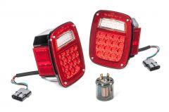 Quadratec LED Tail Light Kit for 91-95 Jeep Wrangler YJ 55213.0113