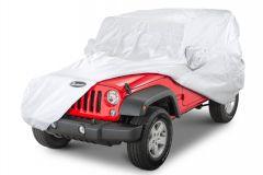 Quadratec Softbond UV Silver Cover for 07-18 Jeep Wrangler JK 2 Door 11081.2021