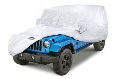 Quadratec Softbond UV Silver Cover for 07-18 Jeep Wrangler Unlimited JK 4 Door 11081.2022