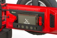 Quadratec Tailgate Cargo Shelf Tie Down Strap for 07-18 Jeep Wrangler JK, JKU 44036.0301