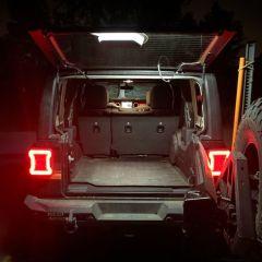 """Quake LED 39"""" Interior Light Bar for 07-20+ Jeep Wrangler JK & JL QTE753"""