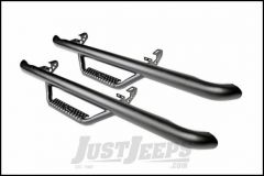 Rough Country Wheel To Wheel Nerf Steps For 2012-18 Jeep Wrangler JK 2 Door Models RCJ1246