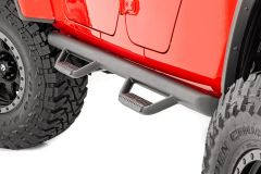 Rough Country Wheel to Wheel Nerf Steps For 2020+ Jeep Gladiator JT 4 Door Models 90770