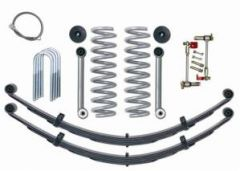 "Rubicon Express 3.5"" Super-Flex Suspension System With Rear Complete Springs Without Shocks For 1984-01 Jeep Cherokee XJ RE6030"