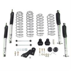 "Rubicon Express 2.5"" Spring Suspension System With Mono Tube Shocks For 2007-18 Jeep Wrangler JK 4 Door Models RE7141M"