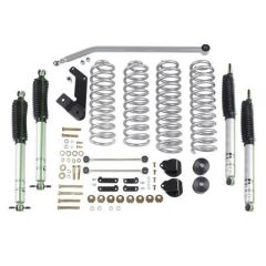 """Rubicon Express 3.5"""" Standard System With Mono Tube Shocks For 2007-18 Jeep Wrangler JK 4 Door Unlimited RE7142M"""
