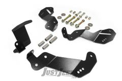 Rubicon Express Geometry Correction Front Control Arm Brackets For 2007-18 Jeep Wrangler JK 2 Door & Unlimited 4 Door Models RE9800