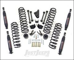 "ReadyLIFT 4"" SST Lift Kit With Shocks For 2007+ Jeep Wrangler JK 2 Door & Unlimited 4 Door Models 69-6401"