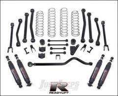 "ReadyLIFT 4"" 8-Arm SST Lift Kit With shocks For 2007+ Jeep Wrangler JK 2 Door & Unlimited 4 Door Models 69-6409"