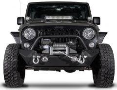 Reaper Off-Road Immortal F1 Front Bumper for 07-18 Jeep Wrangler JK, JKU JFBST2-JK