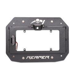 Reaper Off-Road License Plate Carrier for 18+ Jeep Wrangler JL, JLU JLTSX2-B
