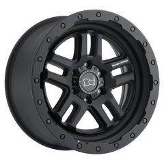 Black Rhino Barstow Wheel for 07-20+ Jeep Wrangler JL, JK & Gladiator JT BARSTOWBL-