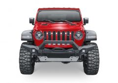 Rival 4x4 Aluminum Front Winch Bumper for 07-20+ Jeep Wrangler JK, JL & Gladiator JT 2D-