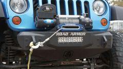 Road Armor Stealth Stubby Front Winch Bumper for 07-18 Jeep Wrangler JK, JKU 509R0-