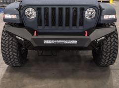 Road Armor Spartan Front Bumper for 18+ Jeep Wrangler JL & 20+ Gladiator JT 5183XF0B