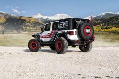 Road Armor Stealth Steel Fender Flares Rear for 18+ Jeep Wrangler JL 518AFR0B