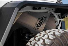 Road Armor Stealth Body Armor Inner Fender Liners Front Pair for 18+ Jeep Wrangler JL & 20+ Gladiator JT 518LFF0Z