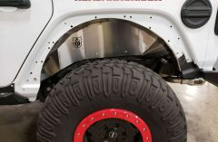 Road Armor Stealth Body Armor Inner Fender Liners Rear Pair for 18+ Jeep Wrangler JL, JLU 518LFR0Z